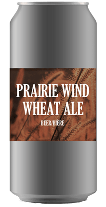 PRAIRIE WIND WHEAT ALE [CROWLER CAN] - Breast Cancer Awareness Ridge Rock Brewing Company