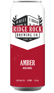 RIDGE ROCK AMBER [CAN 473ml] Ridge Rock Brewing Company