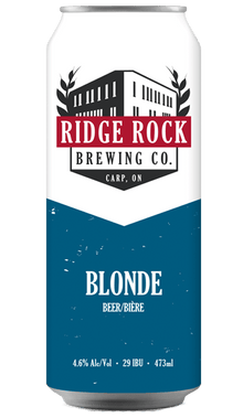 RIDGE ROCK BLONDE [CAN 473ml] Ridge Rock Brewing Company