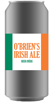 RIDGE ROCK O'BRIEN'S IRISH RED [CROWLER CAN] Ridge Rock Brewing Company