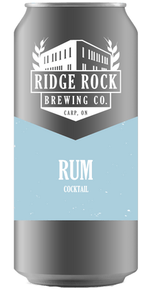 Rum [Crowler Cocktail] Ridge Rock Brewing Company