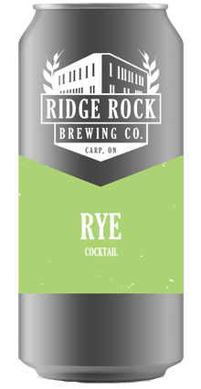 Rye [Crowler Cocktail] Ridge Rock Brewing Company
