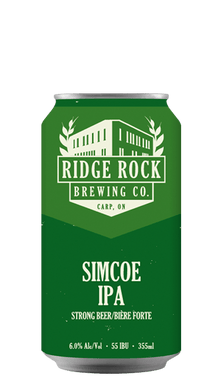 SIMCOE DDHIPA [CAN 355ML] Ridge Rock Brewing Company