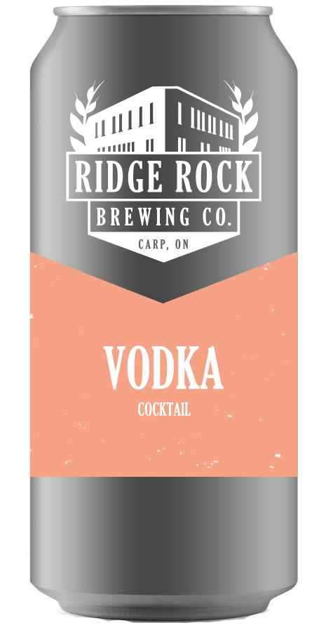 Vodka [Crowler Cocktail] Ridge Rock Brewing Company