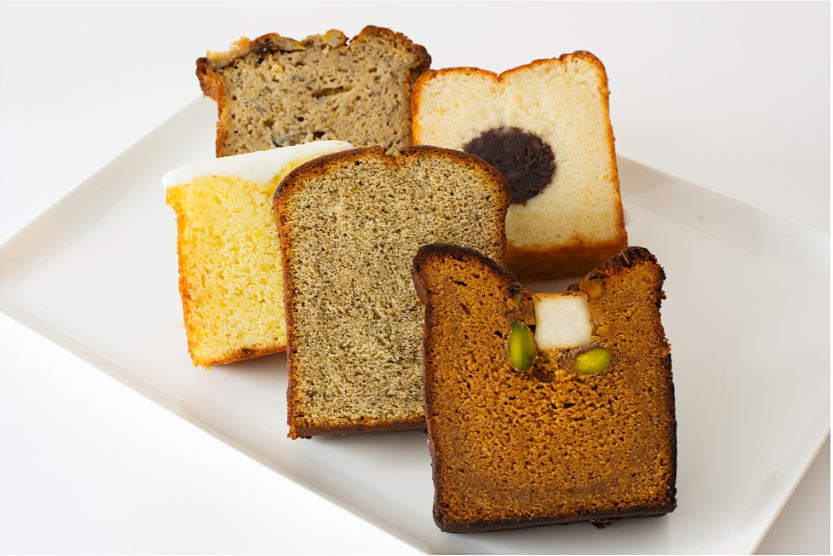 Fouet Assorted Pound Cake Box (5pc)