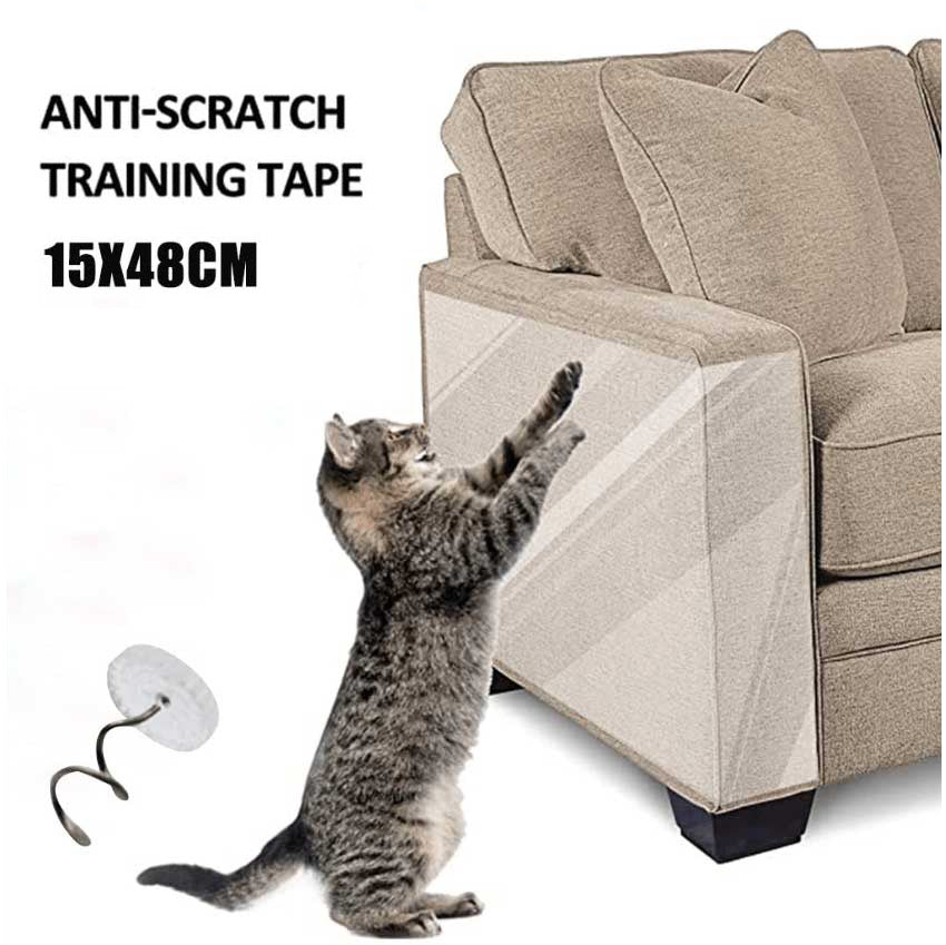 Cat Scratch Deterrent Tape Double Anti-Scratch Tape Can Be Trimmed