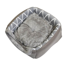 Load image into Gallery viewer, Pet Winter Warm Bed For Cats Dogs Soft Nest Bed