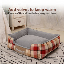 Load image into Gallery viewer, Pet Dog Cat Warm Bed Removable And Washable
