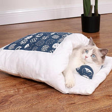Load image into Gallery viewer, Movable Winter Warm Cat House Small Pet Bed