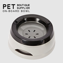 Load image into Gallery viewer, Pet Dog Bowls Floating Not Wetting Mouth Water Bowl
