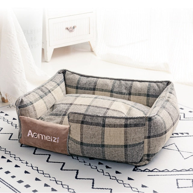 Pet Dog Cat Warm Bed Removable And Washable