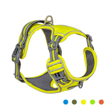 Load image into Gallery viewer, Reflective Nylon Pet Dog Harness Dog Padded Vest