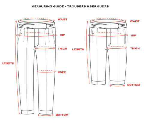 Measuring Guide - Trousers