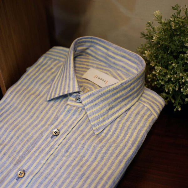 Unfused Linen Shirt [Made To Order]