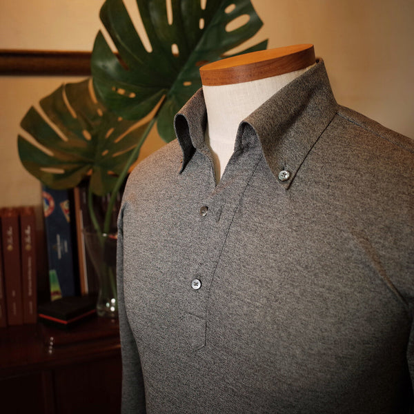 Long Sleeve Jersey Popover Shirt [Made To Order]