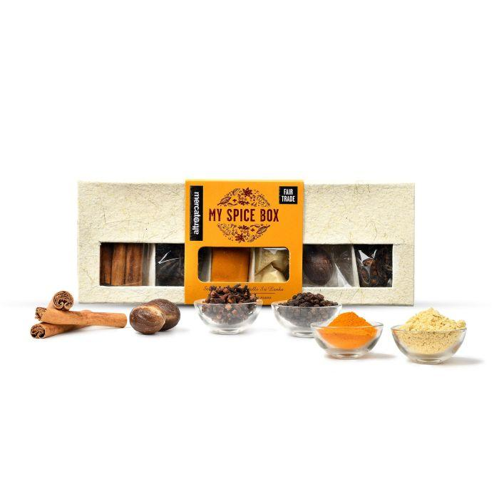 MY SPICE BOX 6 SPEZIE IN COFANETTO REGALO  | COD. 00001096 | 105G.