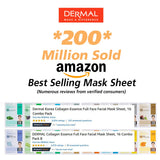 Collagen Facial Masks - 24 Combo Pack