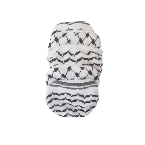 Traditional Keffiyeh Mask Set (5)