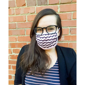 Limited Edition Pink and Black Keffiyeh Mask