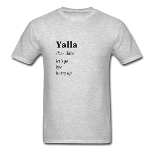 Yalla T-shirt - heather gray