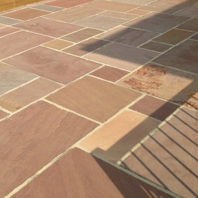 Brown Sandstone, Autumn Brown Indian Paving, Patio Packs 22mm Cal. ??21.00/m2