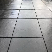 Kota black limestone paving slabs