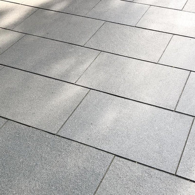 Blue Grey Granite Paving Slabs, Mid Grey 900 x 600 ??32.29/m2