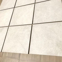 cream porcelain paving slabs