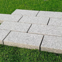 granite cobbles setts edging stones 200 x 100