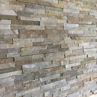 stone wall cladding, oyster quartz