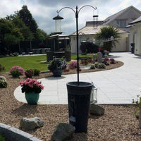 granite paving patio