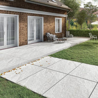 porcelain paving light grey