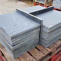 Black Slate Paving Slabs, Brazilian Slate 800x400x20mm ??27.00/m2