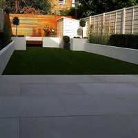Mint Fossil Sandstone Paving, Smooth Honed, Sawn, 600x600 ??24.89/m2