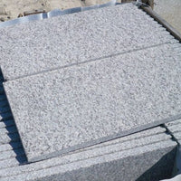 flamed granite paving textured