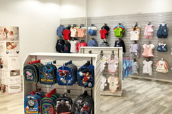 Children's Clothing and Backpacks