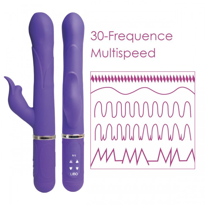 Dolphin - A Rotating Vibrator for Women for clit and g spot stimulation