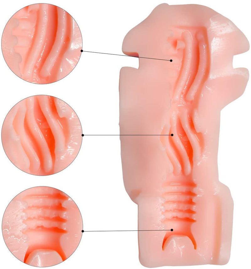 Luna Male Masturbator with Discreet Outer ABS Shell