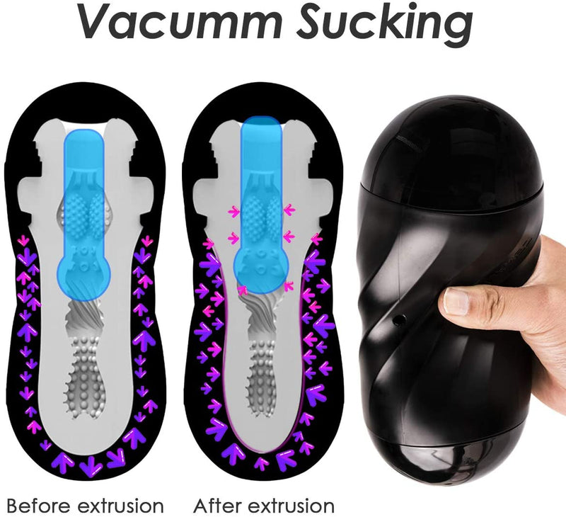 Nancy - A Masturbator with Vacuum for Men