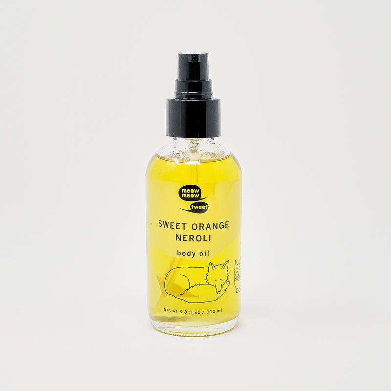 Body Oil | Sweet Orange Neroli