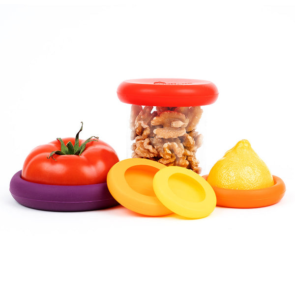 Food Huggers - Rainbow set of five
