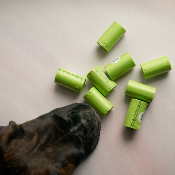 Biodegradable Poop Bags- single rolls