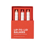 Lip to Lid Balmies - Malibu Magic - set of 3