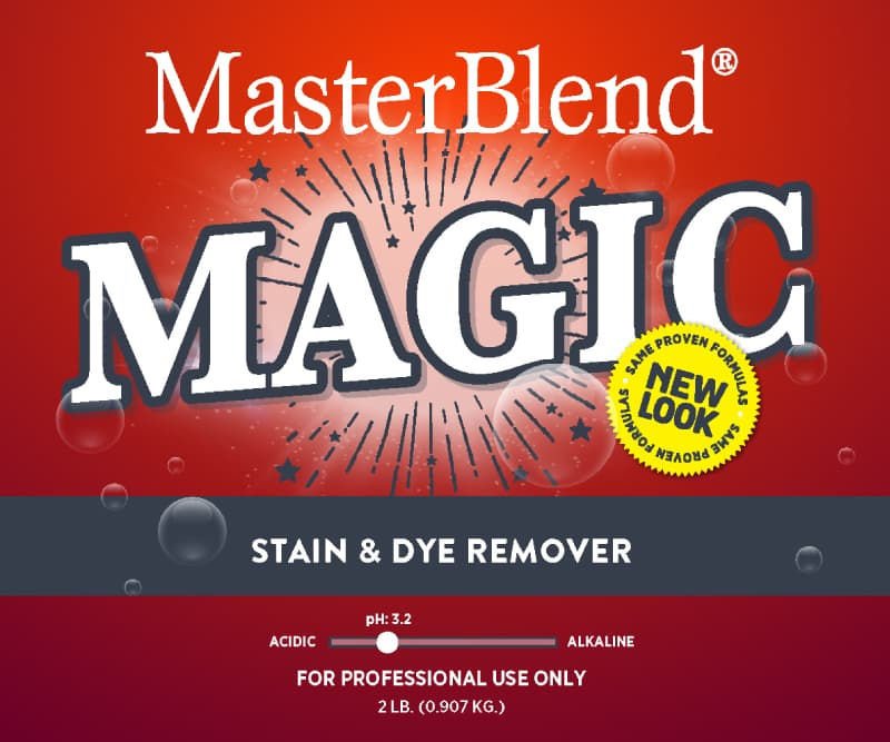 Magic Stain Dye Remover SDS Image