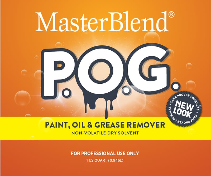 POG-Paint Oil Grease Remover SDS Image