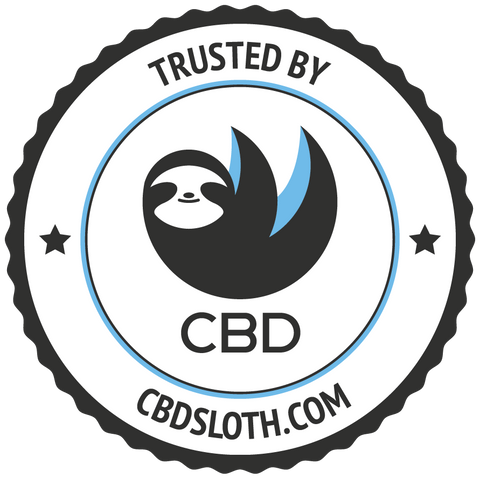 CBD sloth seal of approval
