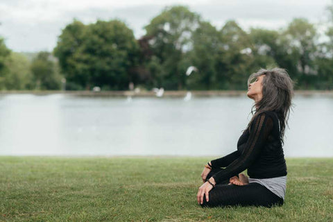 sit by some water for mental health week uk