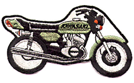 KAWASAKI BIKE PATCH (A7)