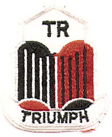 TRIUMPH BADGE PATCH (J5)