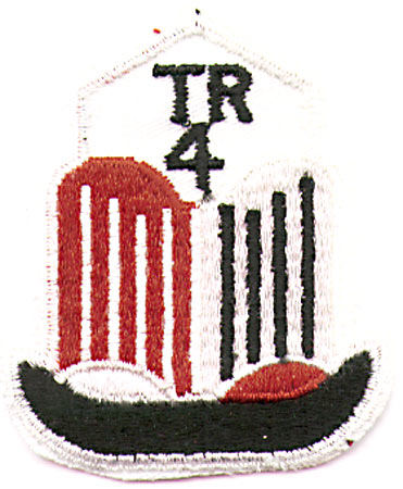 TRIUMPH 4 BADGE PATCH (J7)